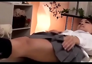 Cute Japanese Girl Gets a Massage