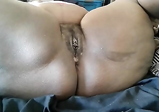 Landlord Eats Phat Perishable Pussy Dominican West Indies then videos her Big Juicy Clit