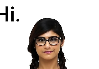 MIA KHALIFA - I Invite You To Go b investigate A Closeup Of My Perfect Arab Congress
