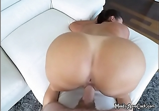 Entertaining Maid Julianna Vega Bends Over For Boss