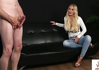 Bigtits UK beauty teases and humiliates sub