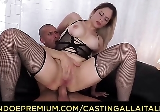 Troupe ALLA ITALIANA - Curvy beauty takes deep ass drilling