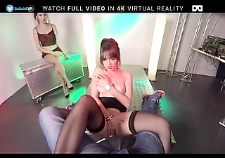 BaDoink VR Striptease Audition With Miyuki Son And Naty Mellow VR Porn