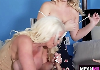Stepma Fucks Daughter And Her Ex BF