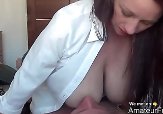 MILF with Big Boobs Rides Cock - AmateurFuck.ga