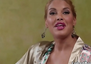 Mercedes Carrera with an increment of Giselle Palmer does nuru massage on a business man