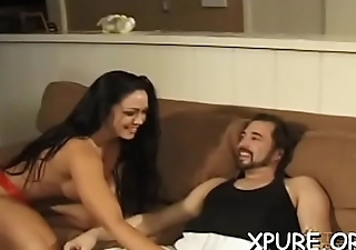 Athletic sweetheart smothering and facesitting on inferior guy
