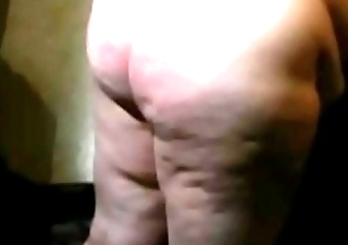 06-Aug-2014 Slo Mo Ass beating (Sklavin/slave)