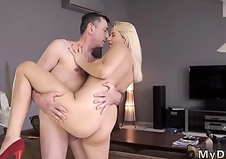 Daddy loves fucking me and old mom sex Sleepy fellow unsnapped how his