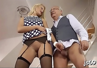 Daddy'_s little princess is around for some immodest doing