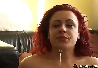 True Amateur Sub Girl Mishandled And Rough Fucked
