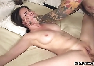 Booked up spreded slave anal fucked