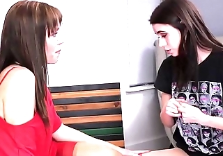 Virgin lesbian Lucie Cline meets with Alana Yachting trip