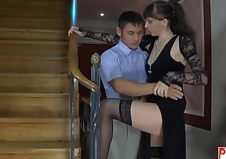 STEP MOM FUCKS SON