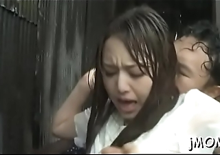 Stunning asian mature gets her cum-hole drilled vigorously