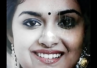 Cumshot be incumbent on keerthy suresh mallu